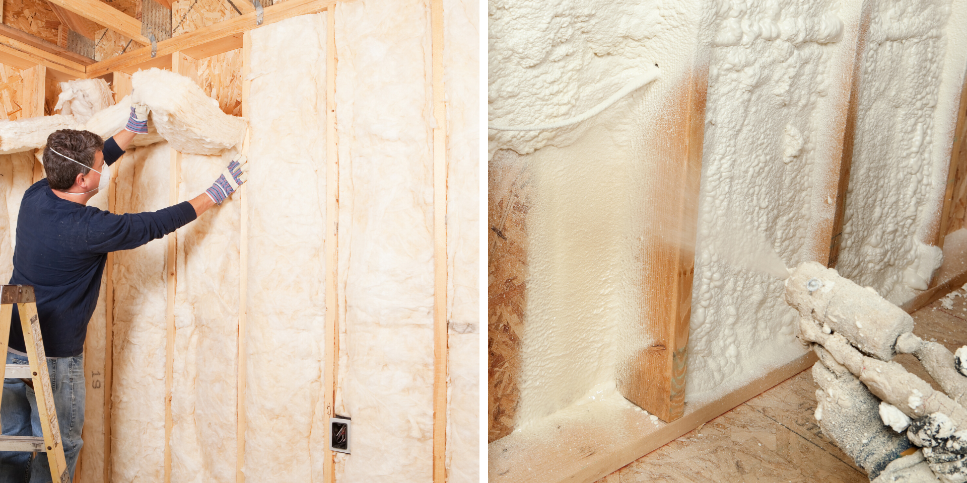 What are the Pros and Cons of Open Cell Spray Foam Versus Fiberglass  Insulation? | Tilson Custom Home Builders in Texas