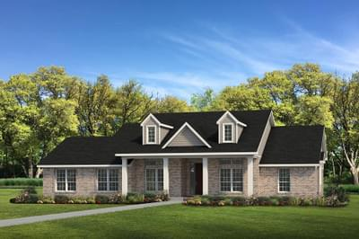 Elevation C - The Shiloh Tilson Custom Home Photo