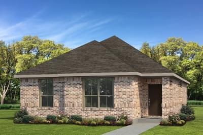 Elevation A - The San Felipe Tilson Custom Home Photo