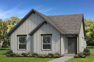 Elevation C - The San Felipe Tilson Custom Home Photo