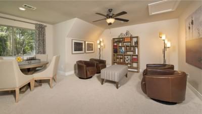 Optional Upstairs Bonus Room | The Rockwall Model Tilson Custom Home Photo