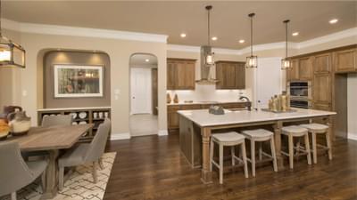 Kitchen | The Rockwall Model Tilson Custom Home Photo