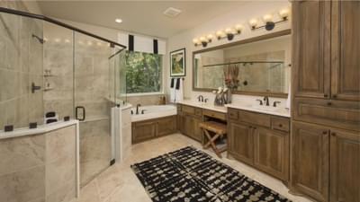 Master Bathroom | The Rockwall Model Tilson Custom Home Photo