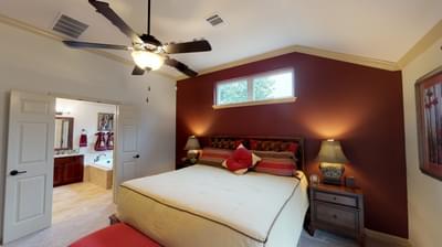 Master Bedroom - Frio Model in Boerne Design Center Tilson Custom Home Photo