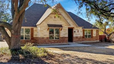 Elevation B - The Cypress | Customer Home in Bexar County - May Contain Plan Changes and Upgrades Tilson Custom Home Photo