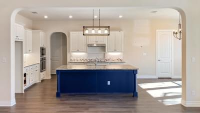 Kitchen - The Cypress | Customer Home in Bexar County - May Contain Plan Changes and Upgrades Tilson Custom Home Photo
