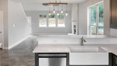 Alternate Kitchen Layout - The Goliad | Customer Home in Comal County - May Contain Updates and Plan Changes Tilson Custom Home Photo