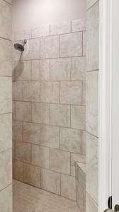 Master Bath Walk-In Shower - The Goliad | Customer Home in Comal County - May Contain Updates and Plan Changes Tilson Custom Home Photo