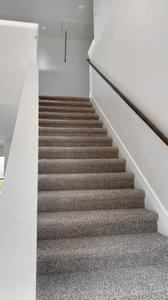 Stairway - The Goliad | Customer Home in Comal County - May Contain Updates and Plan Changes Tilson Custom Home Photo