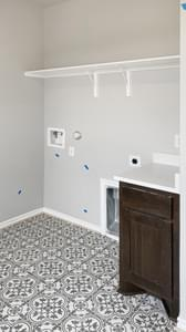 Utility Room - The Goliad | Customer Home in Comal County - May Contain Updates and Plan Changes Tilson Custom Home Photo