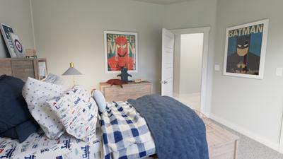 Bedroom 3 - The Live Oak | Rendered Home - May Contain Upgrades and Plan Changes Tilson Custom Home Photo