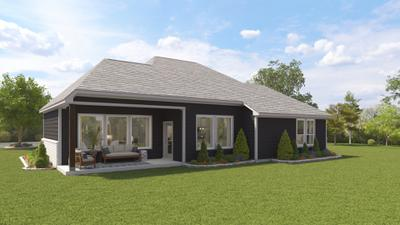 Elevation B - The Live Oak | Rendered Home - May Contain Upgrades and Plan Changes Tilson Custom Home Photo