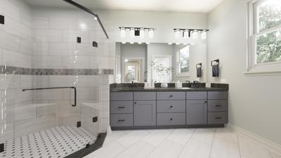 Master Bathroom - The Live Oak | Rendered Home - May Contain Upgrades and Plan Changes Tilson Custom Home Photo