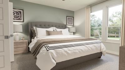 Master Bedroom - The Live Oak | Rendered Home - May Contain Upgrades and Plan Changes Tilson Custom Home Photo
