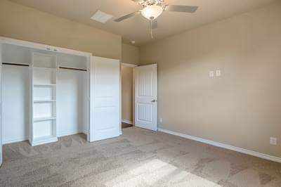 Bedroom 3 – The Angelina | Customer Home in Brazoria County – May Contain Plan Changes and Upgrades Tilson Custom Home Photo