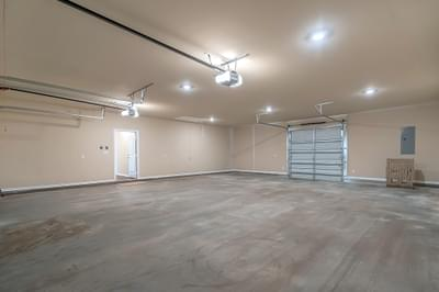 Utility Garage Door – The Angelina | Customer Home in Brazoria County – May Contain Plan Changes and Upgrades Tilson Custom Home Photo