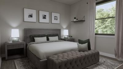 Bedroom 2 - The Abilene | Rendered Home - May Contain Upgrades and Plan Changes Tilson Custom Home Photo