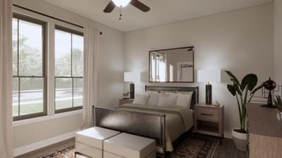 Bedroom 3 - The Abilene | Rendered Home - May Contain Upgrades and Plan Changes Tilson Custom Home Photo