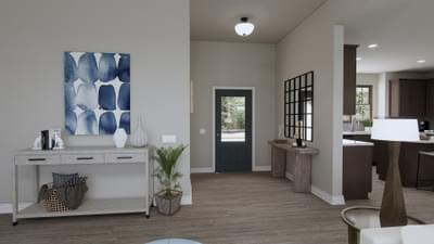 Foyer - The Abilene | Rendered Home - May Contain Upgrades and Plan Changes Tilson Custom Home Photo