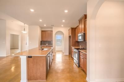 Kitchen – The Angelina | Customer Home in Medina County – May Contain Plan Changes and Upgrades Tilson Custom Home Photo