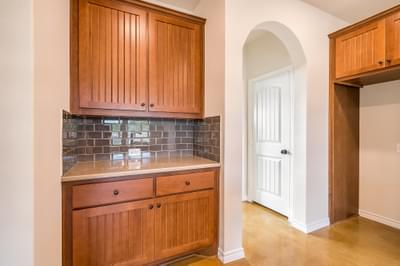 Coffee Bar – The Angelina | Customer Home in Medina County – May Contain Plan Changes and Upgrades Tilson Custom Home Photo