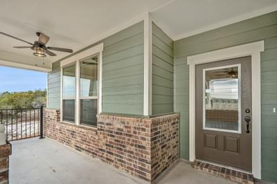 Front Porch – The Angelina | Customer Home in Medina County – May Contain Plan Changes and Upgrades Tilson Custom Home Photo