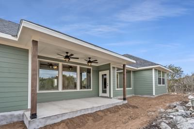 Elevation B – The Angelina | Customer Home in Medina County – May Contain Plan Changes and Upgrades Tilson Custom Home Photo