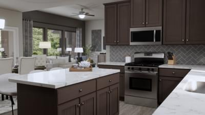Kitchen - The Abilene | Rendered Home - May Contain Upgrades and Plan Changes Tilson Custom Home Photo