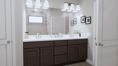 Master Bathroom - The Abilene | Rendered Home - May Contain Upgrades and Plan Changes Tilson Custom Home Photo