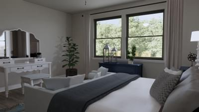 Master Bedroom - The Abilene | Rendered Home - May Contain Upgrades and Plan Changes Tilson Custom Home Photo