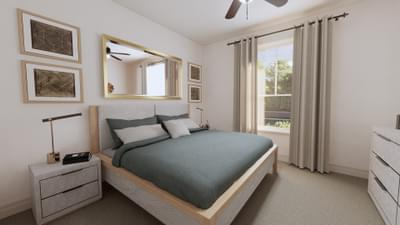 Bedroom 2 - The Angelina | Rendered Home - May Contain Upgrades and Plan Changes Tilson Custom Home Photo