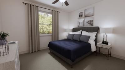 Bedroom 3 - The Angelina | Rendered Home - May Contain Upgrades and Plan Changes Tilson Custom Home Photo