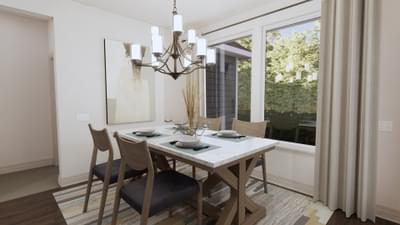 Dining Room - The Angelina | Rendered Home - May Contain Upgrades and Plan Changes Tilson Custom Home Photo