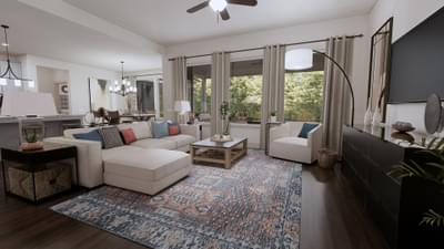 Family Room - The Angelina | Rendered Home - May Contain Upgrades and Plan Changes Tilson Custom Home Photo