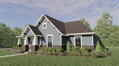 Elevation B - The Angelina | Rendered Home - May Contain Upgrades and Plan Changes Tilson Custom Home Photo