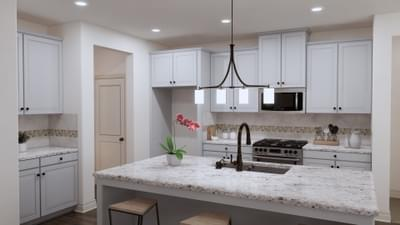 Kitchen - The Angelina | Rendered Home - May Contain Upgrades and Plan Changes Tilson Custom Home Photo