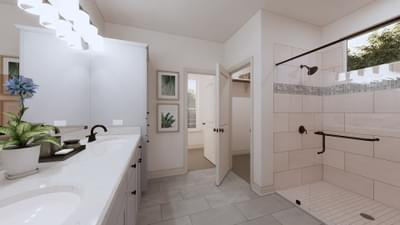 Master Bathroom - The Angelina | Rendered Home - May Contain Upgrades and Plan Changes Tilson Custom Home Photo