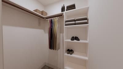 Master Closet - The Angelina | Rendered Home - May Contain Upgrades and Plan Changes Tilson Custom Home Photo