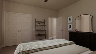 Bedroom 2 - The Travis | Rendered Home - May Contain Upgrades and Plan Changes Tilson Custom Home Photo