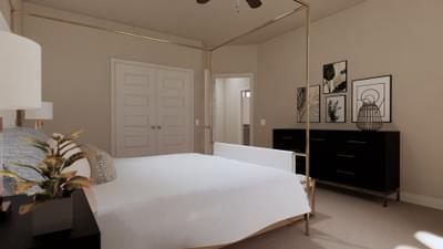 Bedroom 3 - The Travis | Rendered Home - May Contain Upgrades and Plan Changes Tilson Custom Home Photo