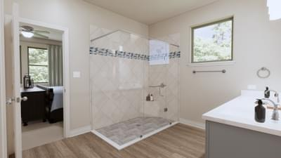 Master Bathroom - The Travis | Rendered Home - May Contain Upgrades and Plan Changes Tilson Custom Home Photo