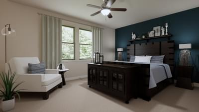 Master Bedroom - The Travis | Rendered Home - May Contain Upgrades and Plan Changes Tilson Custom Home Photo