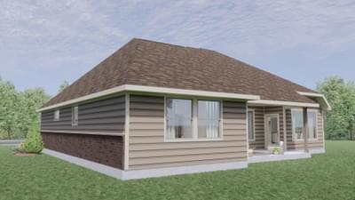 Elevation B - The Travis | Rendered Home - May Contain Upgrades and Plan Changes Tilson Custom Home Photo