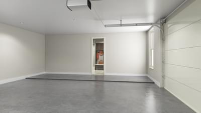 Standard Garage Rendering - La Salle Tilson Custom Home Photo