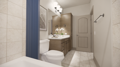 Bath 2 - The Livingston | Rendered Home - May Contain Upgrades and Plan Changes Tilson Custom Home Photo