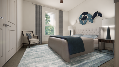 Bedroom 2 - The Livingston | Rendered Home - May Contain Upgrades and Plan Changes Tilson Custom Home Photo