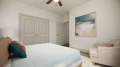 Bedroom 3 - The Livingston | Rendered Home - May Contain Upgrades and Plan Changes Tilson Custom Home Photo