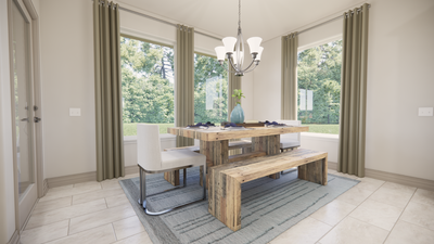 Dining - The Livingston | Rendered Home - May Contain Upgrades and Plan Changes Tilson Custom Home Photo