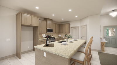 Kitchen - The Livingston | Rendered Home - May Contain Upgrades and Plan Changes Tilson Custom Home Photo