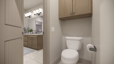 Master Bath - - The Livingston | Rendered Home - May Contain Upgrades and Plan Changes Tilson Custom Home Photo